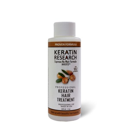 Keratin Research Complex Brazilian Blowout Keratin Hair Treatment Professional Results Straightens and Smooths Hair Instantly (Best Way To Straighten Hair Without Flat Iron)