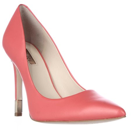Womens GUESS Babbitta Pointed Toe Classic Heels - Medium Red