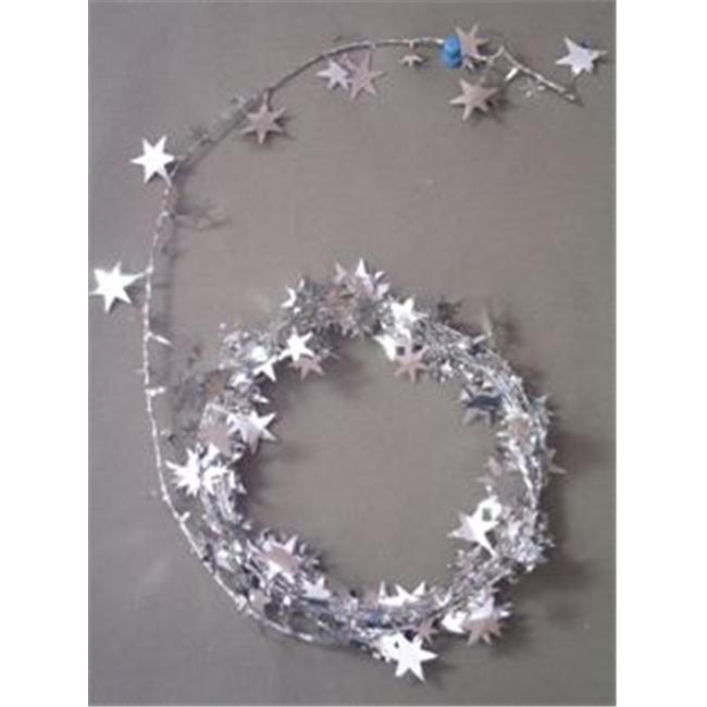 Party Deco 25 ft.  Star Wire Garland - Pack of 12