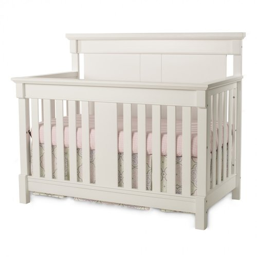 Child Craft Bradford 4-in-1 Convertible Crib White