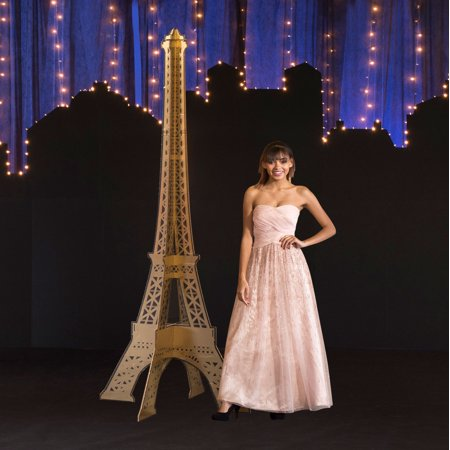8 ft. 7 in. Parisian Chic Slotted Eiffel -