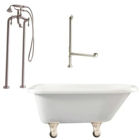 Giagni brighton top soaking bathtub for Best soaker tub for the money