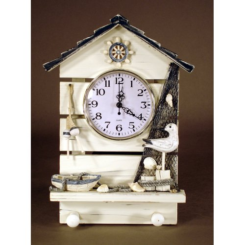 Judith Edwards Designs Beach House Wall Clock