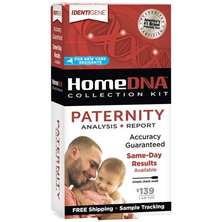 HomeDNA™ Paternity Test Kit for New York (Best Paternity Test Kit)