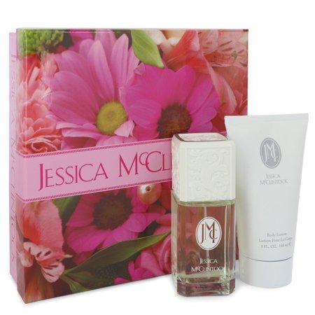 Jessica McClintock JESSICA Mc CLINTOCK Gift Set -- 3.4 oz Eau De Parfum Spray + 5 oz Body Lotion for Women Lotion oz