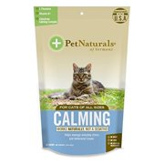 Pet Naturals of Vermont Calming Supplement for Cats, 30 Chews
