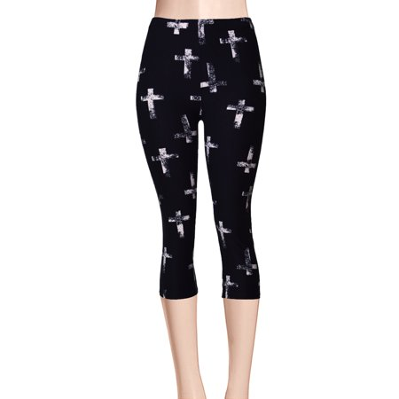 ViV Collection Printed Brushed Capri Antique Cross Plus
