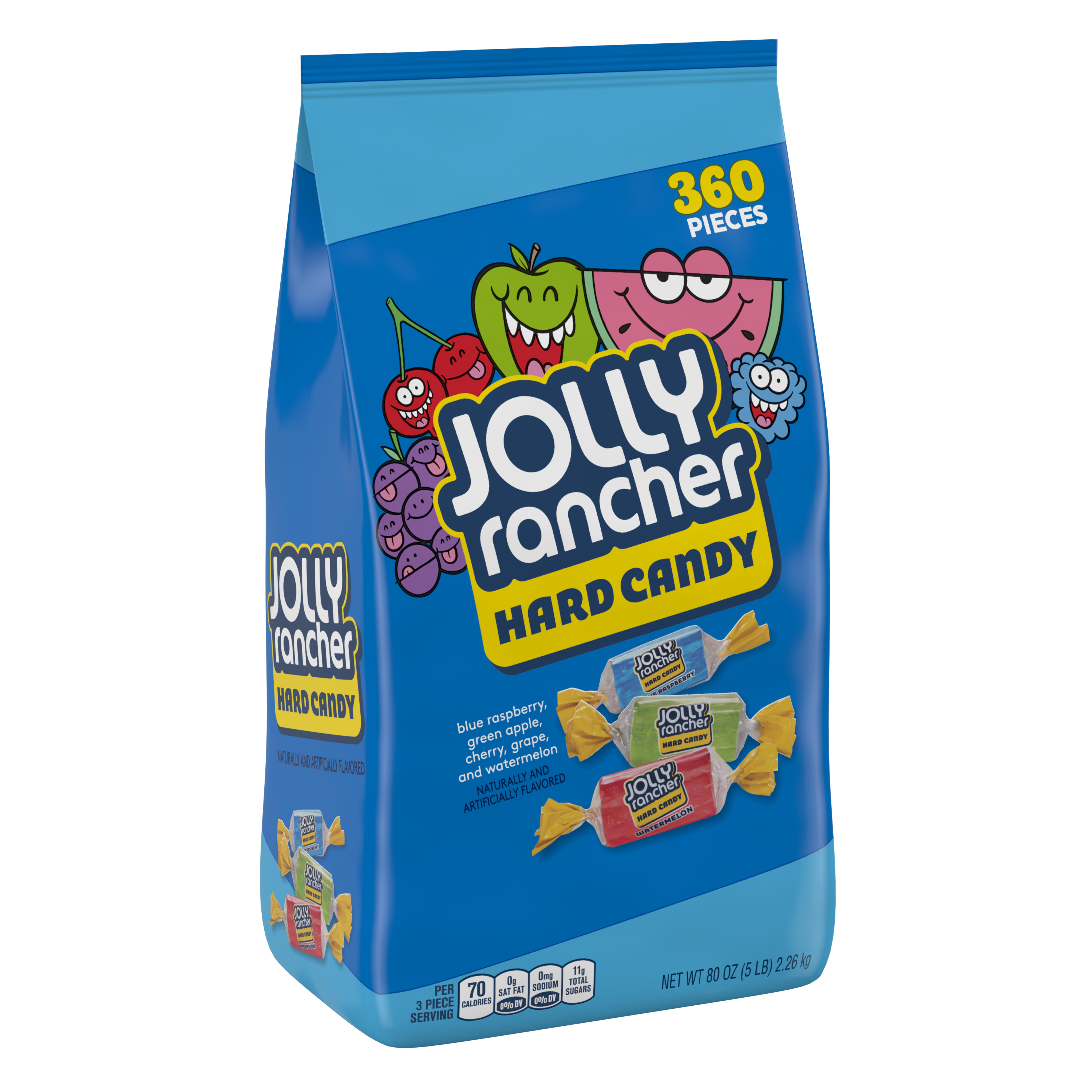 Jolly Rancher, Original Flavors Hard Candy Assortment, 80 Oz