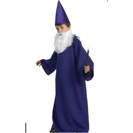 Wizard Boys Costume - Purple, - Boys Wizard Costume
