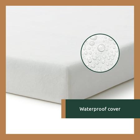 Rest Haven 6 Inch Waterproof Gel Memory Foam Youth Mattress, Blue, Twin