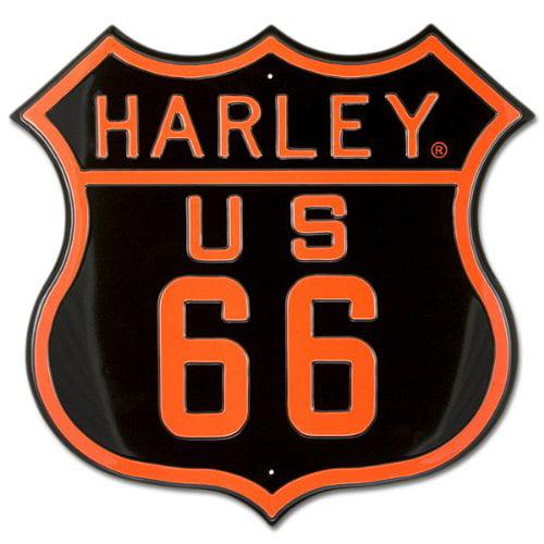 Harley-Davidson/® Sworn To Fun Babes Embossed Tin Sign