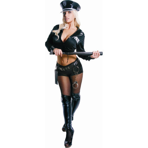 Dress Up America 2 Piece Adult Police Officer