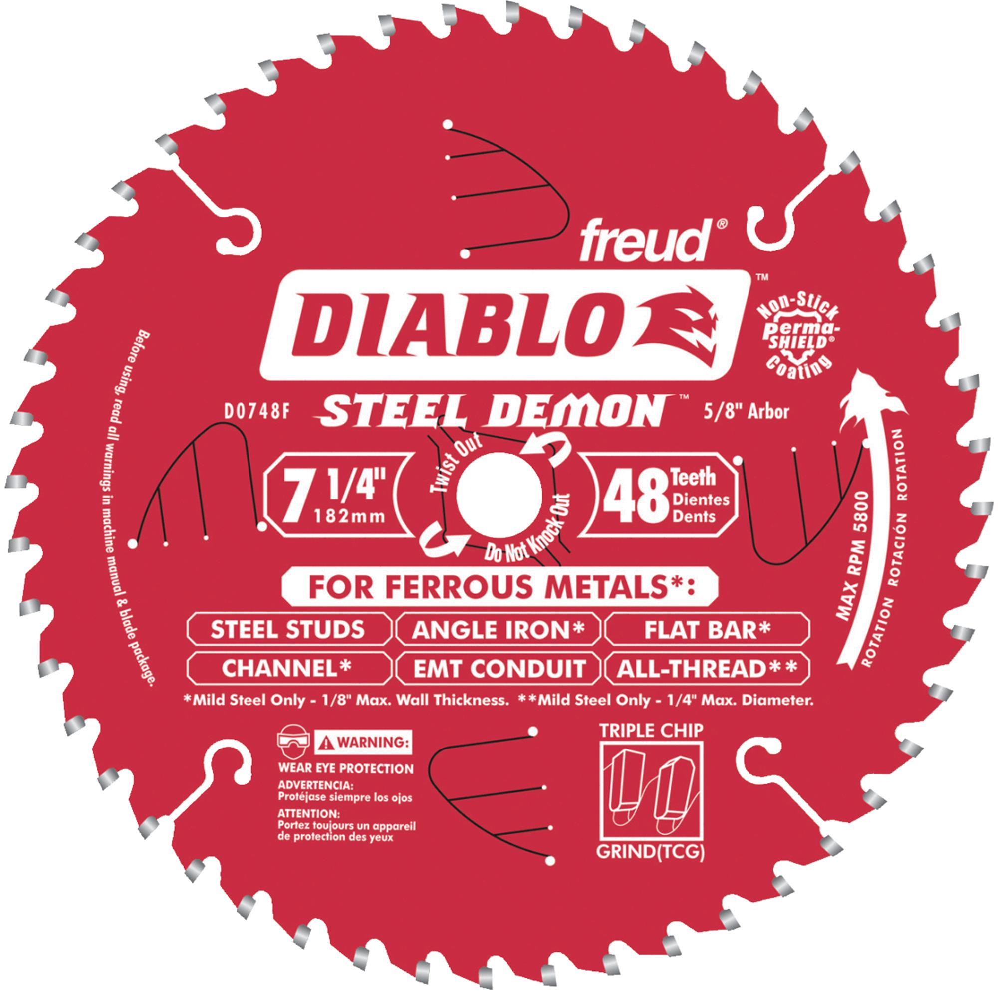 Diablo Steel Demon Circular Saw Blade