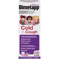 Dimetapp Children's Cold & Cough Syrup Grape, 4.0 FL OZ