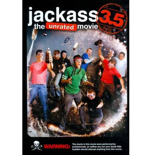 Jackass 3.5: The Unrated Movie by PARAMOUNT HOME VIDEO