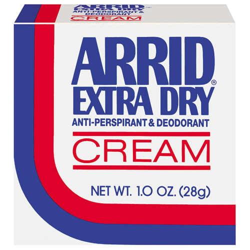 Arrid Extra Dry Anti-Perspirant/Deodorant Cream, 1 oz