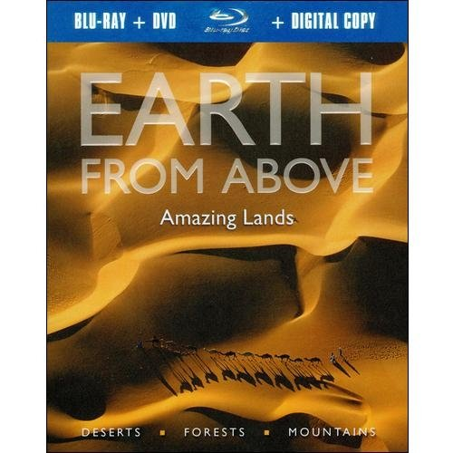 Earth From Above: Amazing Lands (Blu-ray + Standard DVD)