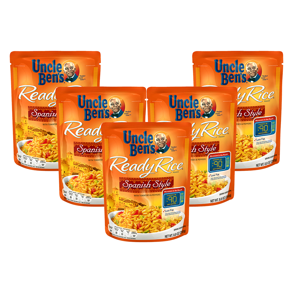 Uncle Ben's Ready Rice: Spanish Style, 8.8oz (5 Packs)