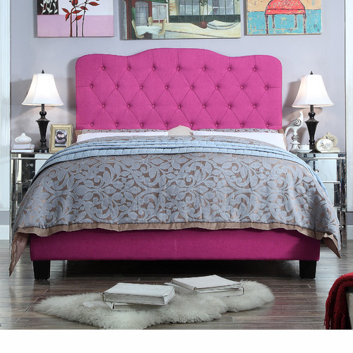 ALTON FURNITURE GROUP Moser Bay Queen Size Tufted Upholstered Bed