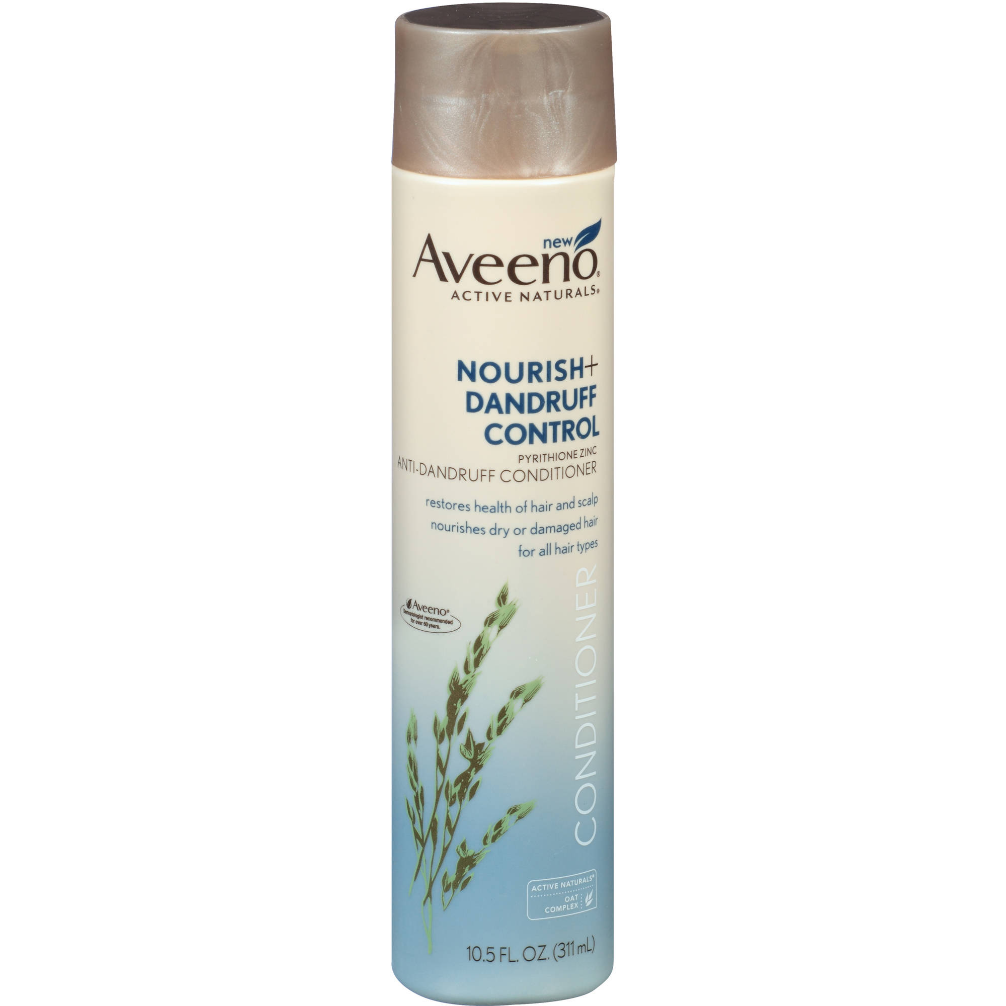 Aveeno Active Naturals Nourish + Dandruff Control Anti-Dandruff Conditioner, 10.5 fl oz