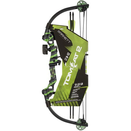 Barnett Tomcat 2 Youth Compound Bow with 17 -22 lb Draw Weight thumbnail