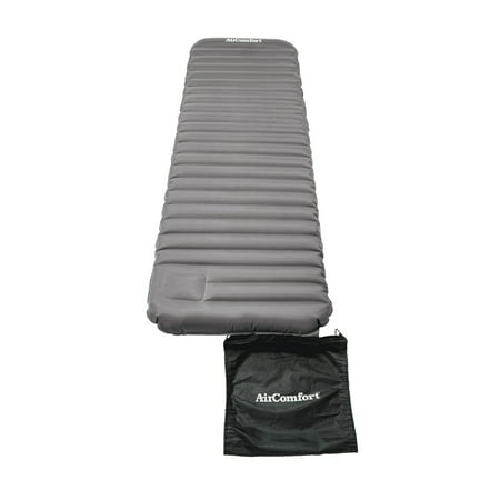 Air Comfort Roll and Go Lightweight Sleeping Pad, Grey