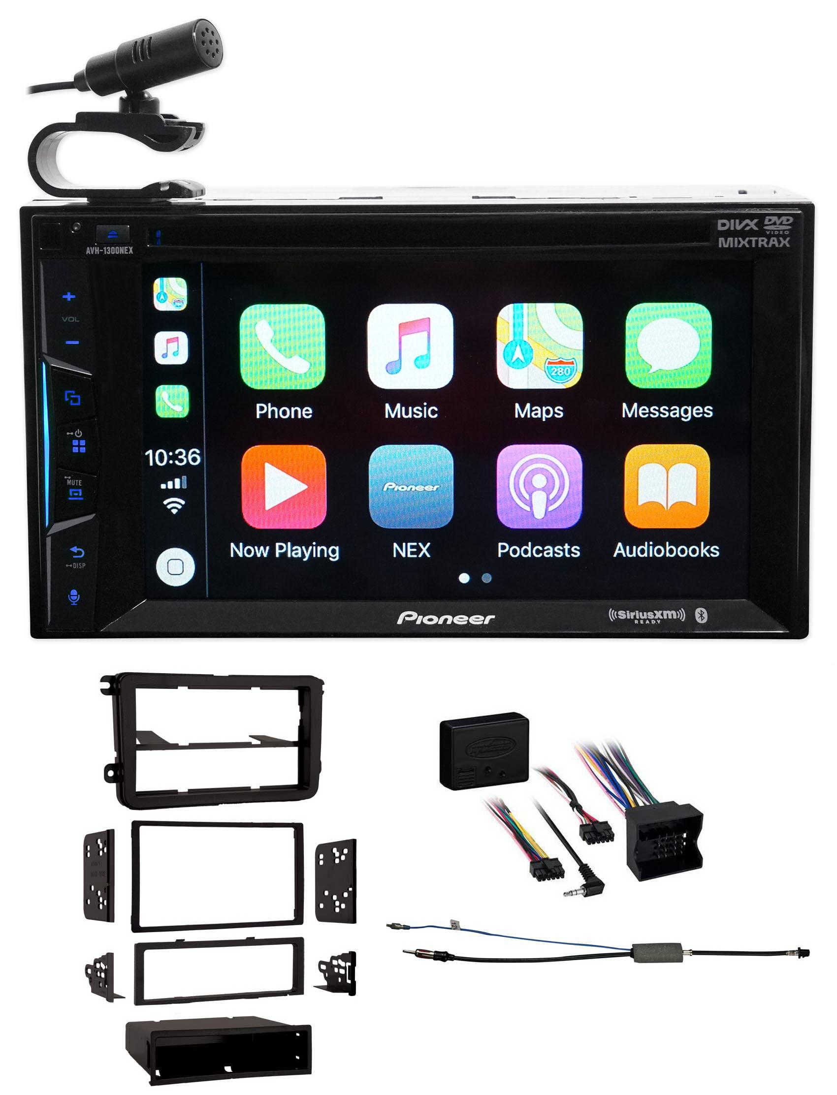 05-15 Volkswagen Jetta VW Pioneer Bluetooth DVD Receiver iPhone Android CarPlay by Pioneer