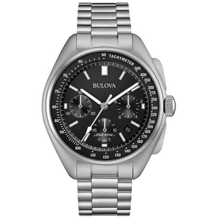 Bulova Mens Moon Chronograph - Special Edition - Stainless Steel - Date