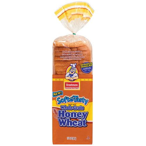 Stroehmann Family Size Honey Wheat Bread, 20 oz