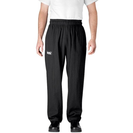 Chefwear 3500-50 MED Pinstripe Ultimate Chef Pants ()