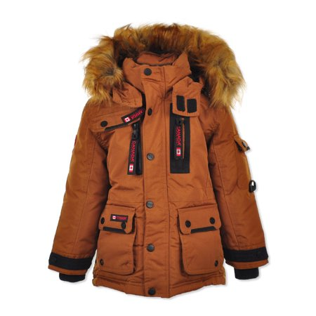 Canada Weather Gear Boys' Insulated Parka Canada Goose Expedition Parka