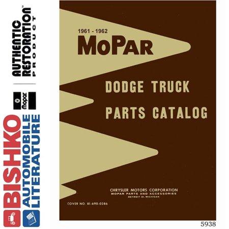 Truck Oem Parts Cd - Bishko OEM Digital Repair Maintenance Parts Book CD for Dodge Truck All Models 1961 - 1962