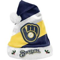 Milwaukee Brewers Team Santa Hat - No Size