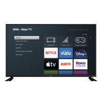 Walmart.com deals on Onn. 58-in Class 4K UHD HDR Roku Smart LED TV 100018971