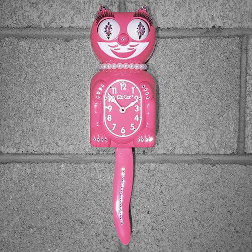 Kit-Cat Klock Lady Clock with Pearls