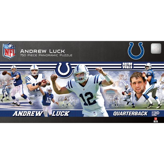 652a5f93 Andrew Luck Indianapolis Colts 750-Piece Player Stadium Panoramic Puzzle -  No Size
