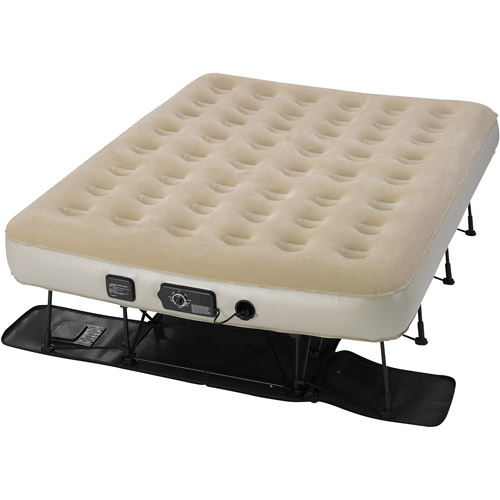 Serta EZ Air Bed with NeverFlat AC Pump, Queen
