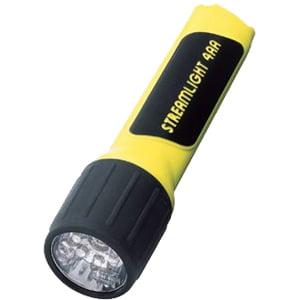 4AA/4AA LED Propolymer Alkaline Battery-Powered Flashlight