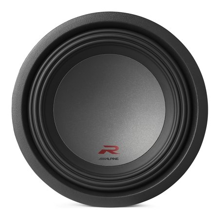 Alpine Type R 12 Inch 2250 Watt Max 2 Ohm Round Car Audio Subwoofer | (Best Amp For Type R 12)