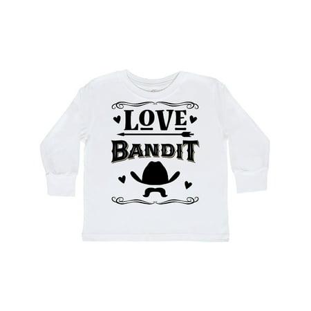 Valentines Day Boys Love Bandit Toddler Long Sleeve T-Shirt