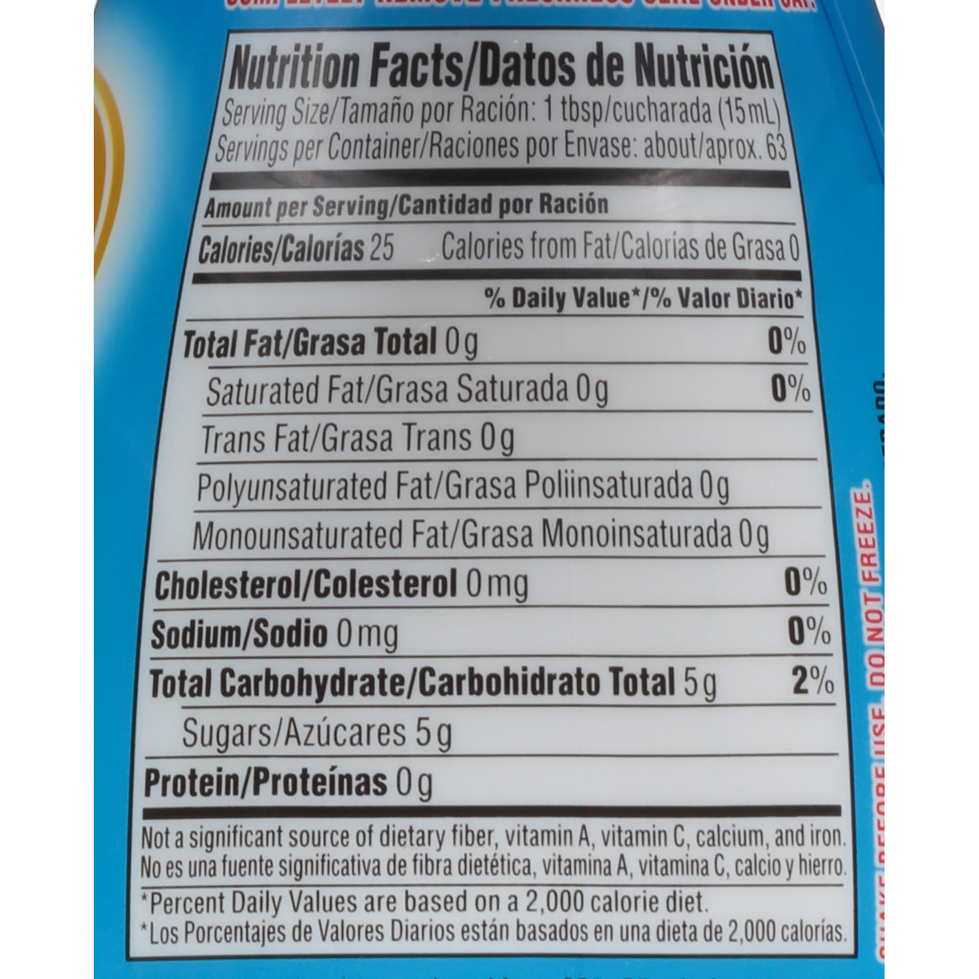 Coffee Mate Nutrition Label - Best