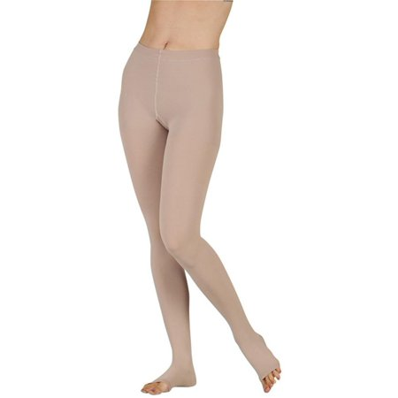Juzo Soft 2000 Open Toe Pantyhose - 15-20 mmHg (Petite Open Toe)