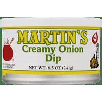 Martin's Creamy Onion Dip 8.5 oz. Can (2 Cans)