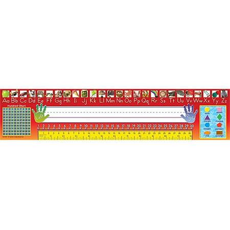 Teacher Created Resources 4311 Traditional Printing Jumbo Name Plates - image 1 of 1
