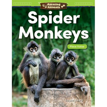Amazing Animals Spider Monkeys: Place Value -