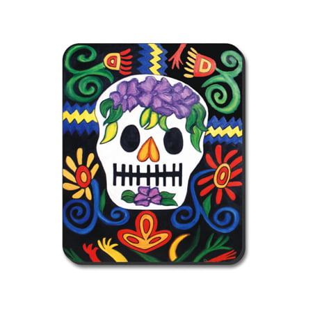 Art Plates Mouse Pad - Day of the Dead Day of the Dead - Dead Mouse Head For Sale