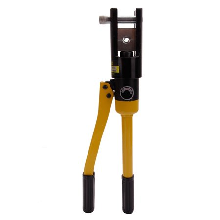 Ktaxon Portable Hydraulic Wire Battery Electrical Cable Lug Terminal Hose Crimper Crimping Tool Set Machine, 16 Ton 11 Dies - image 2 of 2