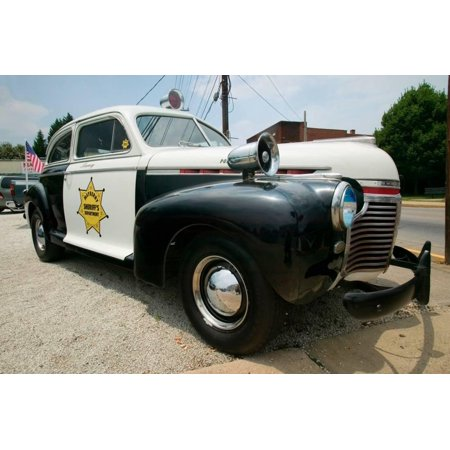 Mayberry Sheriff's Department Police Car in Mount Airy, North Carolina, the  town featured in Ma