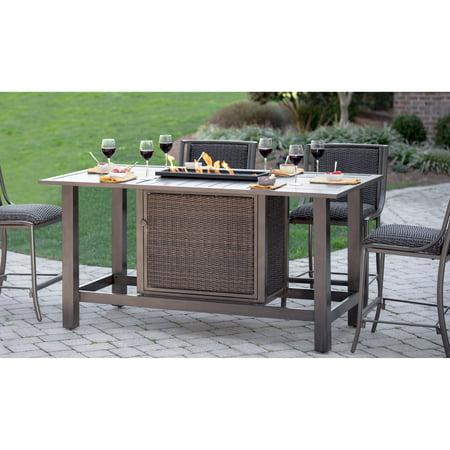 Awe Inspiring Belham Living Mirfield Bar Height Fire Pit Table Uwap Interior Chair Design Uwaporg