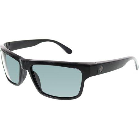 Spy Men's Polarized Frazier 673176038864 Black Square - Spy Sunglasses For Kids